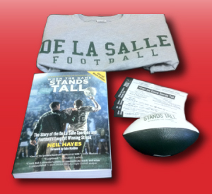 Our most enthusiastic sharers will receive a T-shirt, book, movie tickets and promotional football